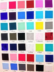 Color Chart  Whats Your Favorite Yumiko Color Combination