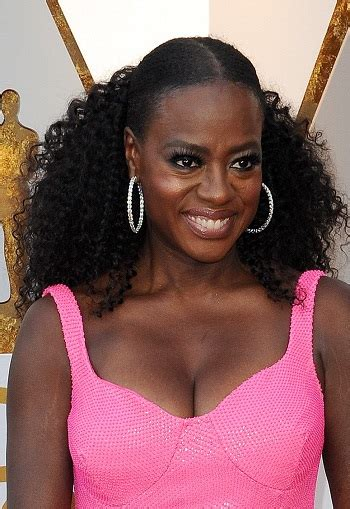 hairstyles viola davis pinned  curly hairstyle