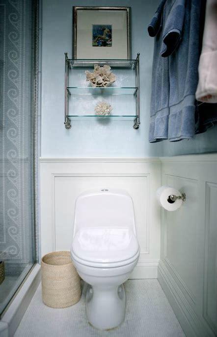 Over The Toilet Shelf  Transitional  Bathroom  Sage Design