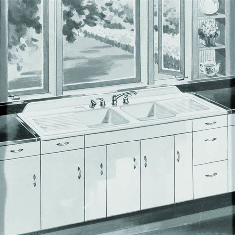 farm sink with drainboard pin by aaron storm on vintage kitchens and baths