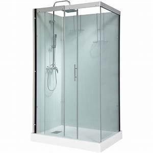 Cabine De Douche Lapeyre : cabine de douche thalaglass 2 simple mitigeur ~ Premium-room.com Idées de Décoration