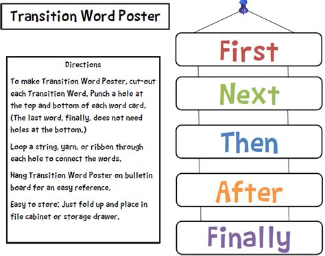 s take out transition words