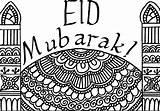 Eid Card Colour Ramadan Cards Coloring Colouring Crafts Masjid Mubarak Pages Printables Islamic Ramadhan Muslimahbloggers Printable Muslim Activities Ul Children sketch template