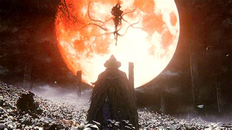 Bloodborne Animated Wallpaper - gif gaming spoilers ps4 lovecraft h p lovecraft