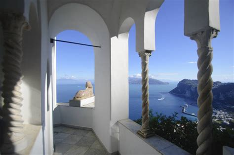 Capri Italy Villa San Michele Info And Photos