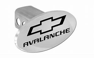 Chevy Avalanche Trailer Hitch Cover Plug With Black