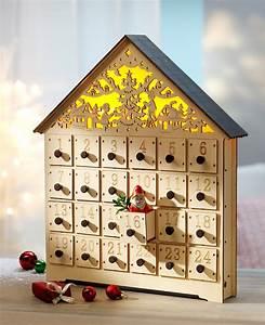 Adventskalender Holz Baum : adventskalender holz h uschen kalender bei ~ Watch28wear.com Haus und Dekorationen