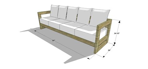 diy sectional sofa plans the design confidential diy furniture plans how to build