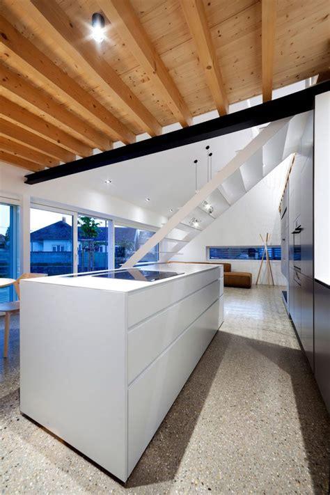 escalier sans contremarche ni re une maison mezzanine moderne