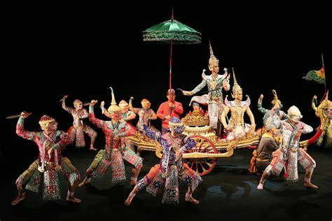 khon dance drama albert hall  dance  costumes