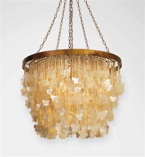 gemma butterfly chandelier large capiz shell chandelier