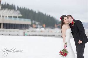 Romantic kissing on the the neck wedding picture ...