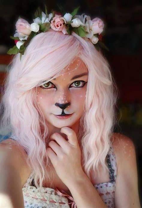 makeup halloween animal awesome easy