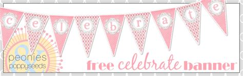 Diy Baby Shower Banner Template