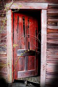red door warped floor by waxmanjack on deviantart With barn door red paint