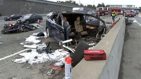Tesla Issues Statement On Fatal Model X Crash As Ntsb