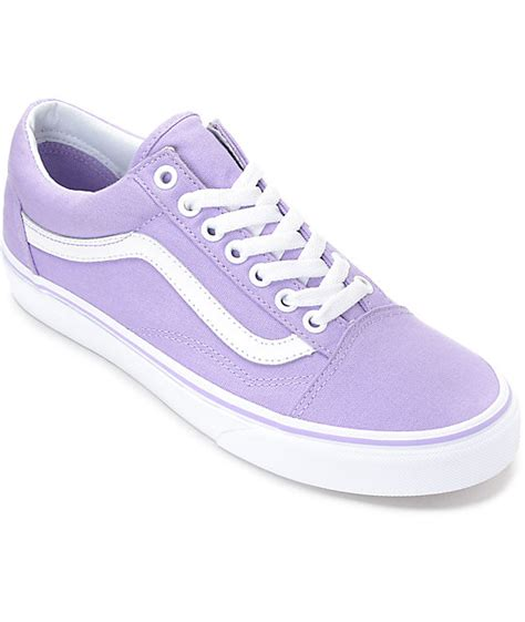 vans light up shoes vans old skool lavender white canvas shoes zumiez