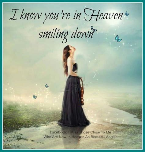 Loved Ones Looking Down From Heaven Quotes
