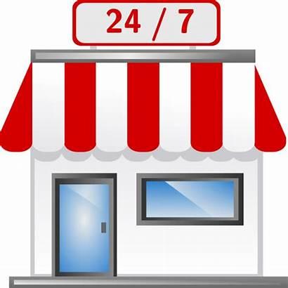 Convenience Vector Clip Clipart Stores Royalty Internet