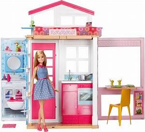 Puppenhaus Für Barbie : mattel puppenhaus barbie 2 etagen ferienhaus puppe online kaufen otto ~ A.2002-acura-tl-radio.info Haus und Dekorationen