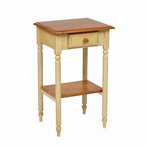 Telephone Table in Antique Yellow - CC04
