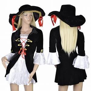 Damen Kostüm Piratin : damen piratin kost m piratenkost m seer uber piraten fasching karneval s l ebay ~ Frokenaadalensverden.com Haus und Dekorationen
