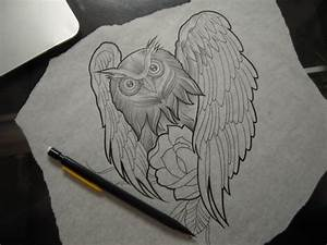 Owl Tattoo Sketch | Tattoos, Henna, and Inks | Pinterest