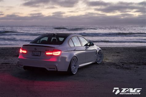 Bmw M3 Modification by Bmw M3 With The Colour White Is An Exclusive Modification