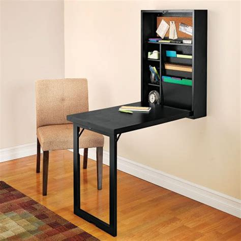 pull down wall desk wall mounted folding table diy furniture designs