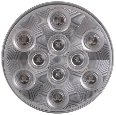 4 round led lights sealed 4 quot round led trailer stop turn tail light 3
