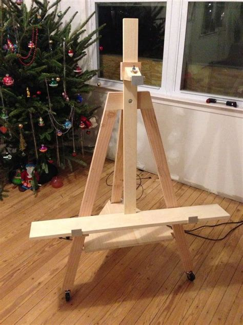 build easel tv stand woodworking projects plans