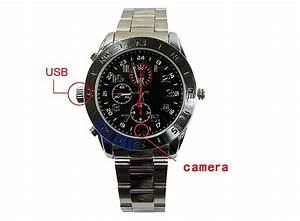 Spy Pinhole Camera Watch 640 x 480 30fps 4GB E01251, Buy ...