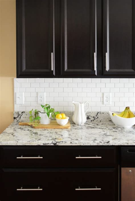 How To Install A Subway Tile Kitchen Backsplash  Young