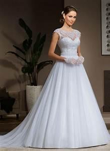 modern vintage wedding dresses 2015 v back a line cap With modern classic wedding dresses