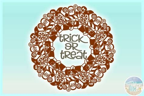 Spiderweb overlays you will receive the following formats: Trick or Treat Halloween Candy Mandala Zentangle SVG ...