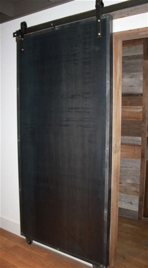 sliding doors reclaimed wood steel modern