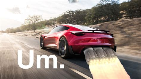 tesla add rockets  reborn roadster   fly