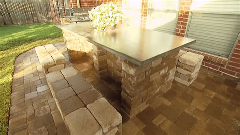 building patio furniture  landscaping blocks todays