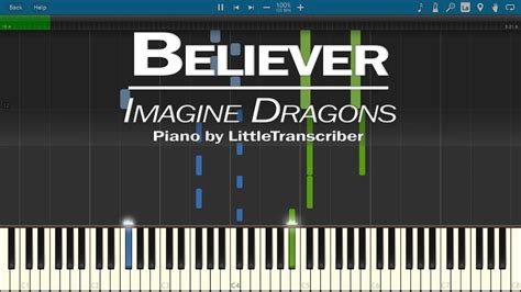 Believer (piano Cover) By