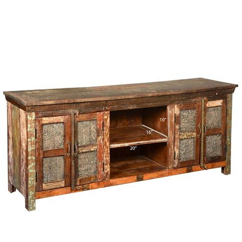 lecanto reclaimed wood furniture rustic wooden windows tv