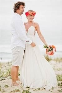 Beach Wedding Groom Attire Idea | Her101