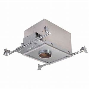 Halo h in aluminum recessed lighting housing for new