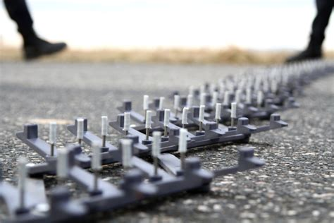 police   spike strips capable  stopping vehicles