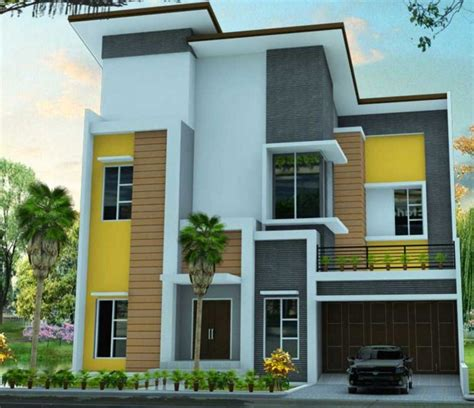 gambar rumah minimalis modern  keren contoh