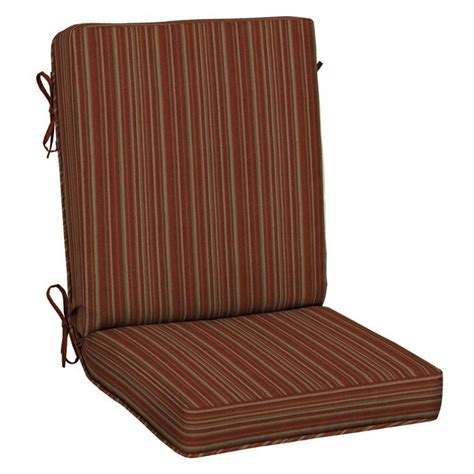 lowes canada patio chair cushions furniture highback outdoor dining chair cushions outdoor