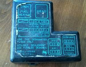 Purchase 86 Toyota Pickup Fuse Box Under Hood 4 Cyl 4x4
