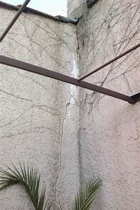 Reparer Grosse Fissure Mur Exterieur : produit rebouchage fissure mur exterieur reboucher ~ Melissatoandfro.com Idées de Décoration