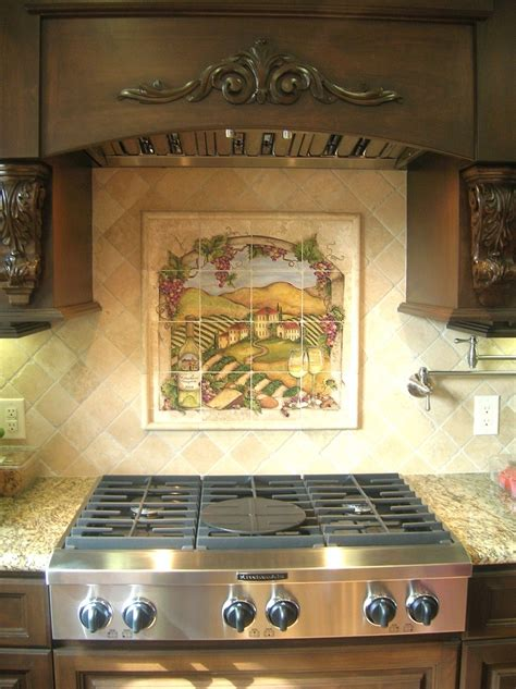 mural tiles for kitchen 145 best images about painted tiles on 3415
