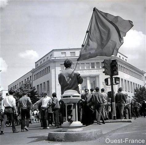 27 mai 1968 les ouvriers de la radiotechnique devant la