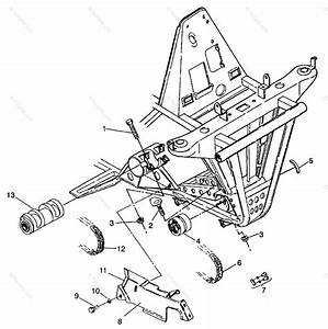 Polaris Atv 1993 Oem Parts Diagram For Front Drive